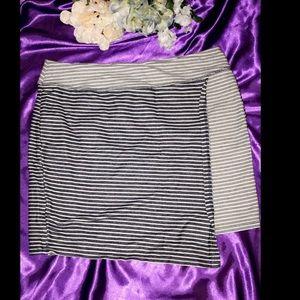 Asymmetrical Sporty Skirt.